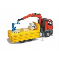 Zabawka ciężarówka dźwig - ładowacz MB Arocs