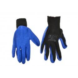 Rękawice robocze ocieplane zimowe BLUE r.10