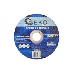 Tarcza do metalu 125x1,2 GEKO (10/50/400)