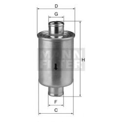 Filtr hydrauliczny (przepływowy)